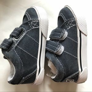 Sperry Shoes - Sperry infant blue gray boat shoes size 1